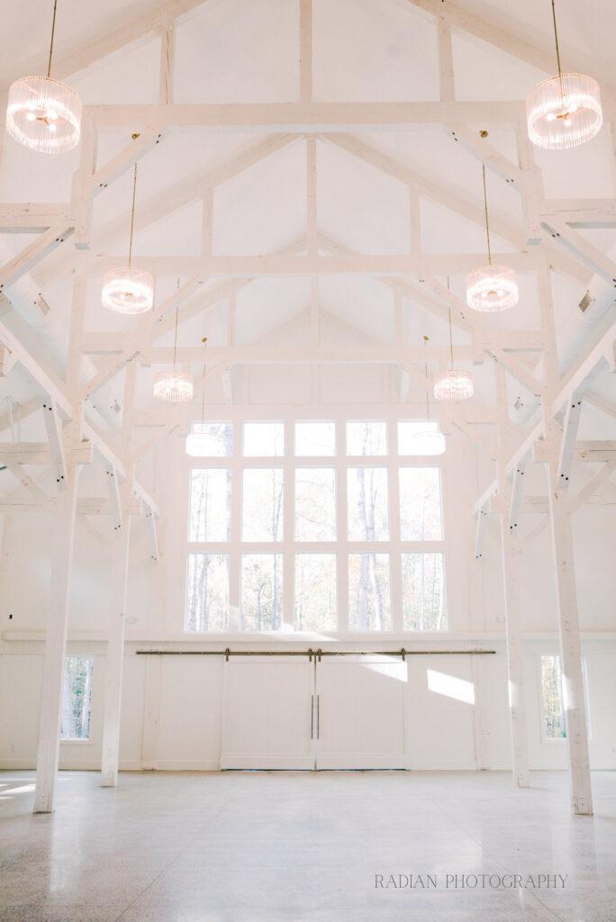 Indoor space for wedding