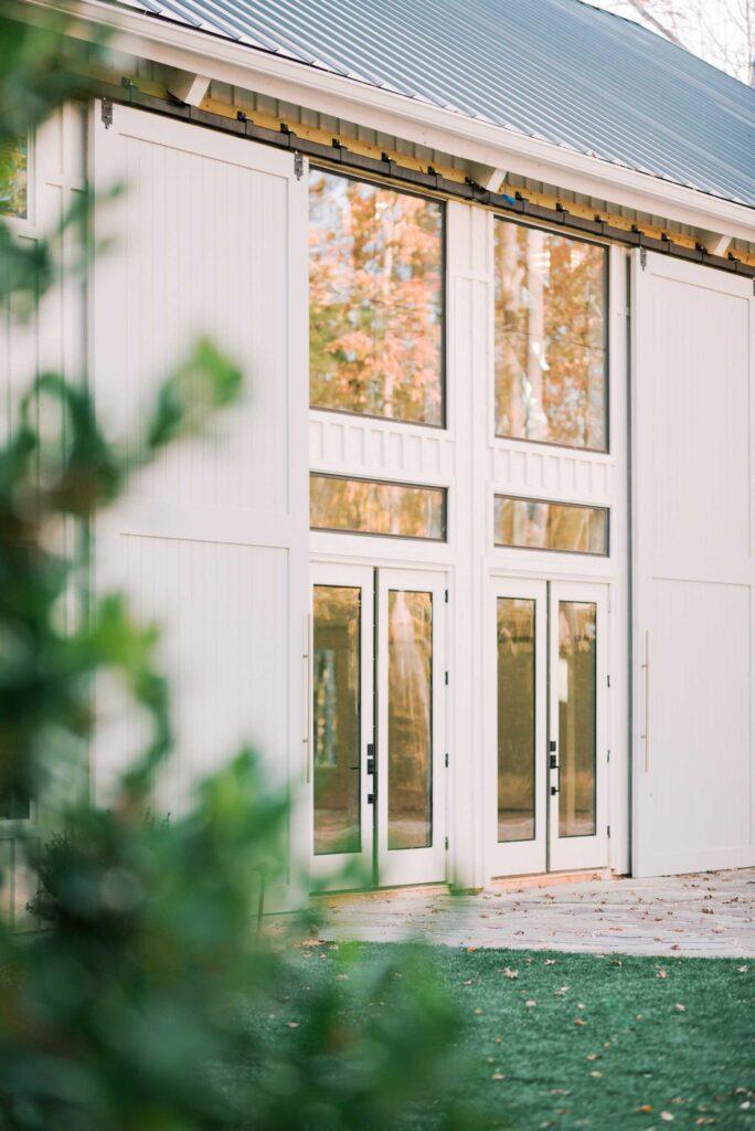Front entrance of venue
