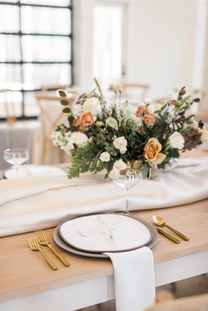 Reception Tables and settings